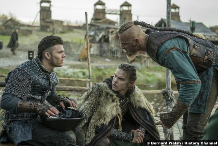 Vikings S04e18 Alexander Ludwig Marco Ilso Alex Hogh Andersen Ivar Boneless Hvitserk
