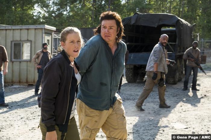 Walking Dead S07e11 Negan Eugene Laura