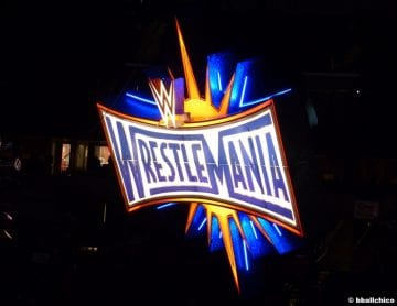 Wrestlemania 33 Sign Logo