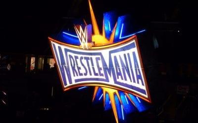 Wrestlemania 33 Sign Logo