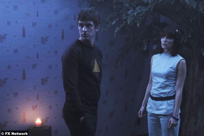 Legion S01e5 Dan Stevens Katie Aselton