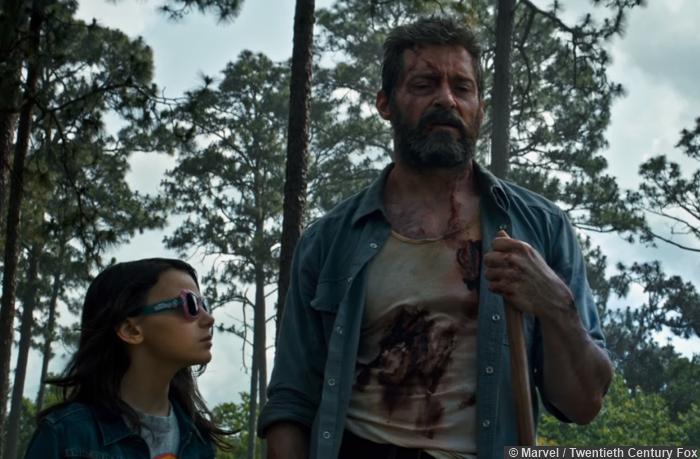 Logan Wolverine Hugh Jackman Laura Dafne Keen