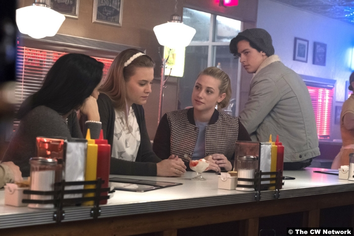 Riverdale S01e07 Polly Betty Jughead Veronica