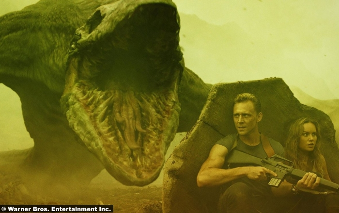 Skull Island Kong Brie Larson Tom Hiddleston
