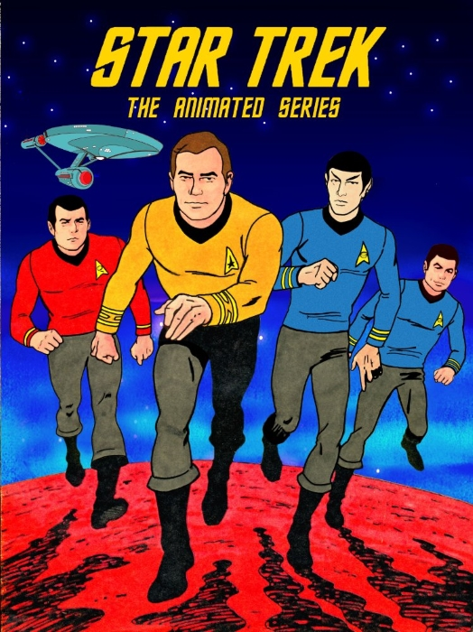 Star Trek Animated 1973 Cover Poster