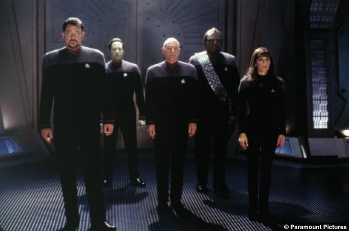 Star Trek Nemesis Crew