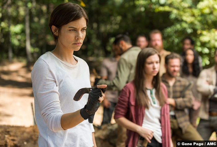 Walking Dead S07e14 Maggie Enid