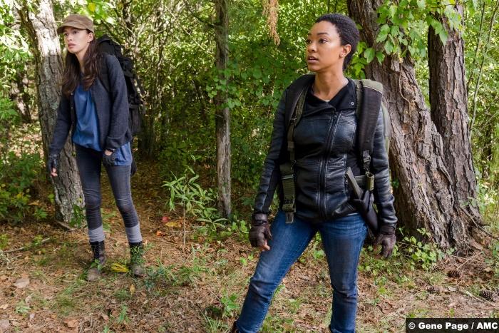 Walking Dead S07e14 Rosita Sasha