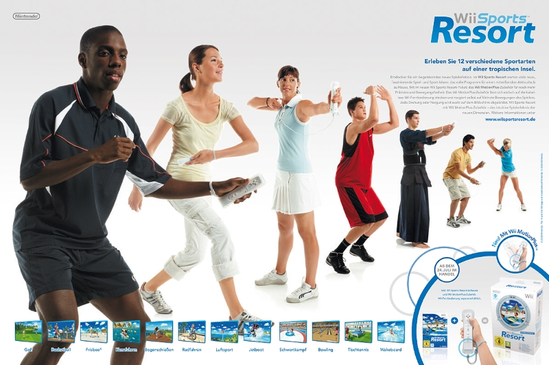 Wii Sports Resort Advertising