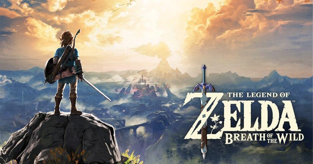 Zelda Breath Wild Poster