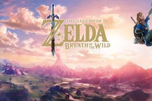 Zelda Breath Wild Poster 2
