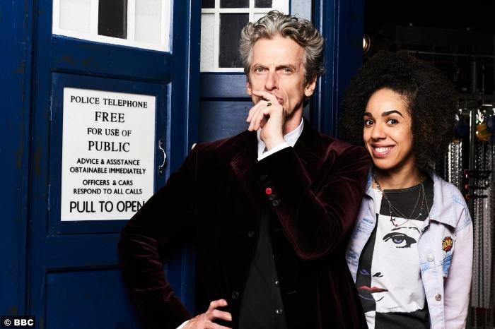 Doctor Who S10 Peter Capaldi Pearl Mackie Bill