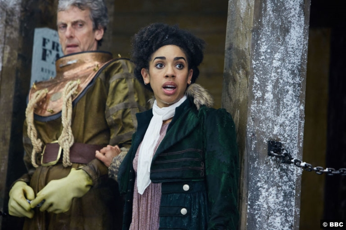 Doctor Who S10e3 Peter Capaldi Pearl Mackie Bill 2
