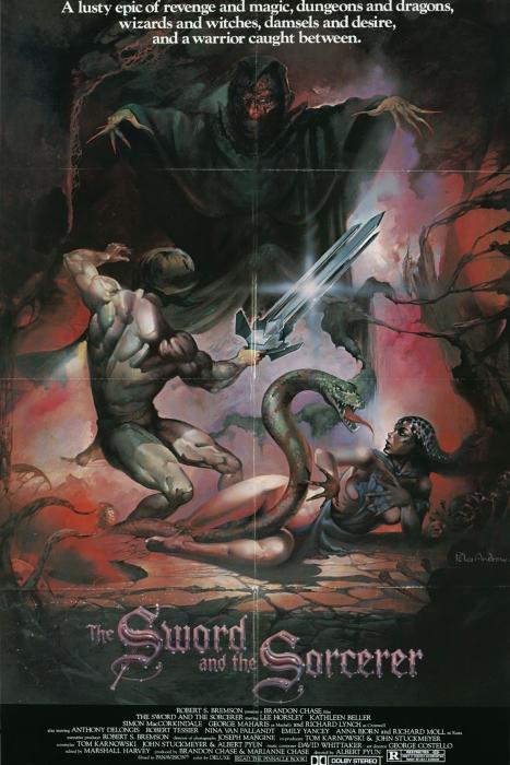 Sword Sorcerer Poster