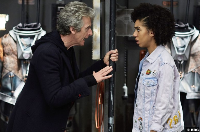 Doctor Who S10e5 Peter Capaldi Pearl Mackie Bill