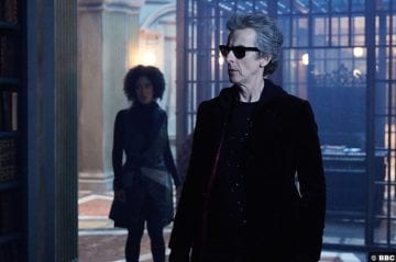 Doctor Who S10e6 Peter Capaldi Pearl Mackie Bill