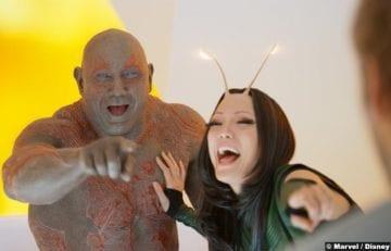 Guardians Galaxy Vol2 Dave Bautista Pom Klementieff Drax Mantis