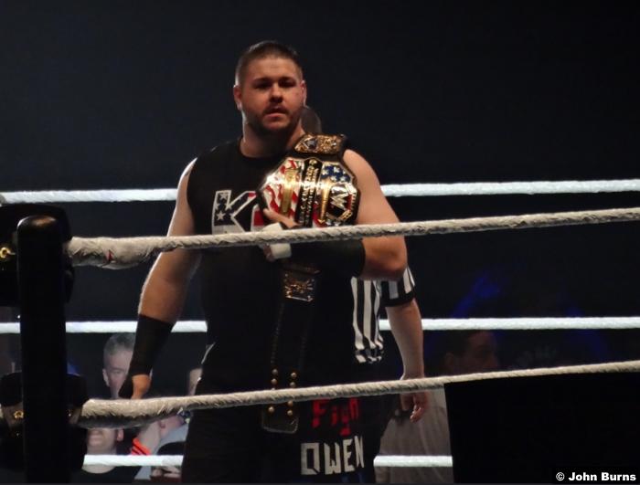 Kevin Owens United States Title Belt 040517