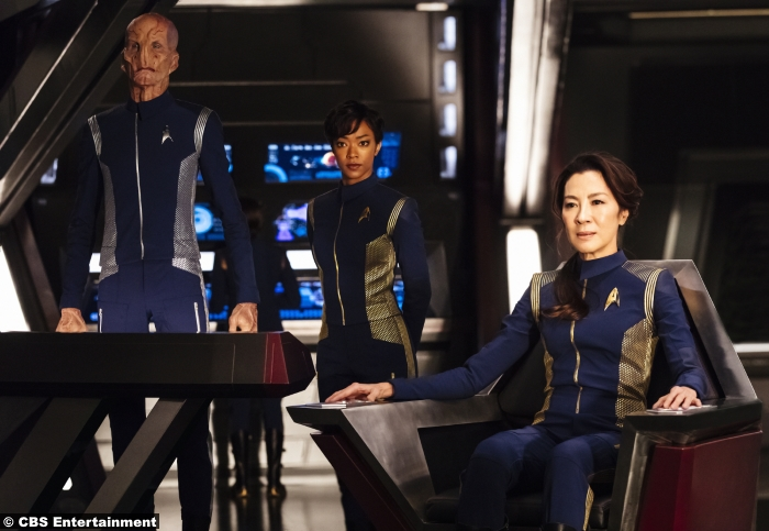 Star Trek Discovery Michelle Yeoh Sonequa Martin Green Doug Jones