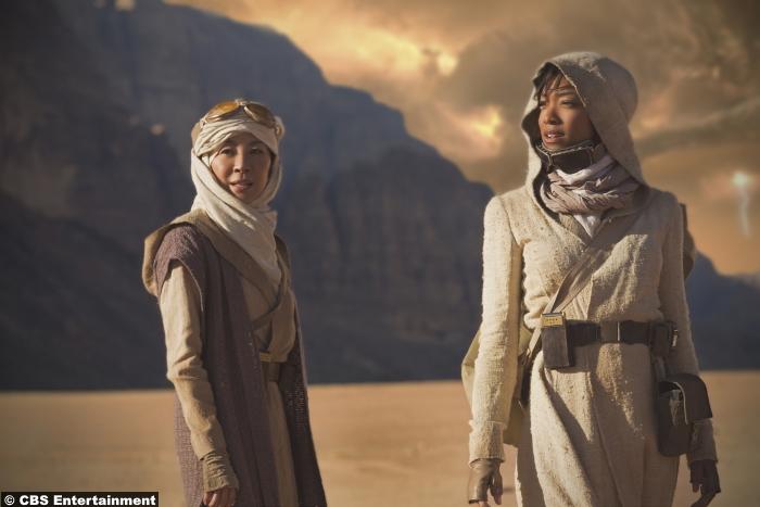 Star Trek Discovery Michelle Yeoh Sonequa Martin Green