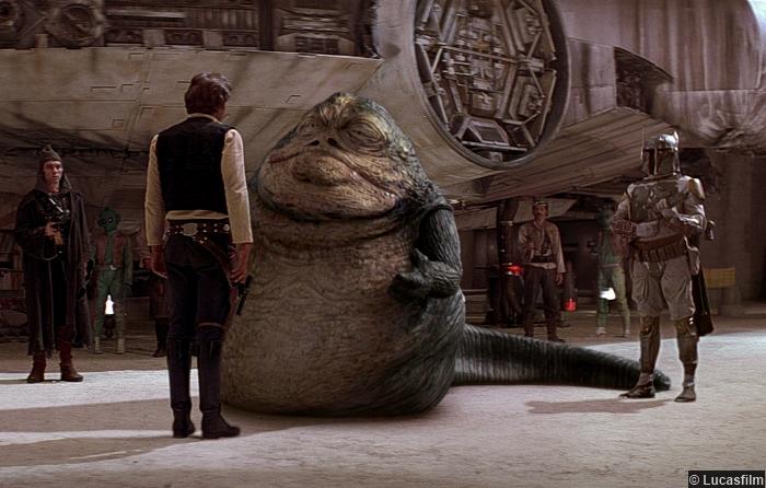 Star Wars Jabba Hut Boba Fett Han Solo