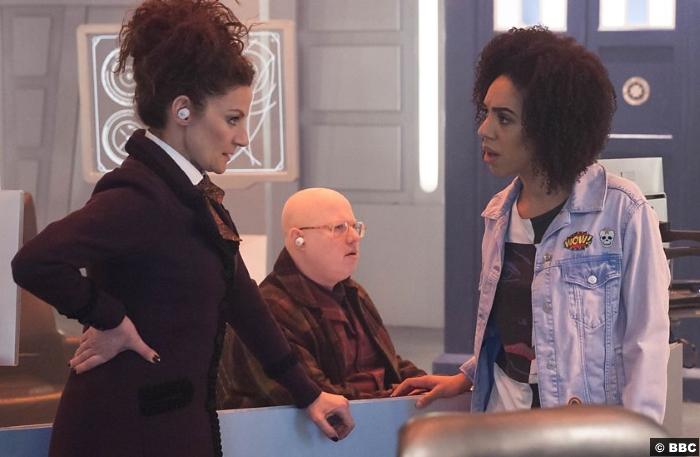 Doctor Who S10e11 Pearl Mackie Bill Nardole Missy Michelle Gomez