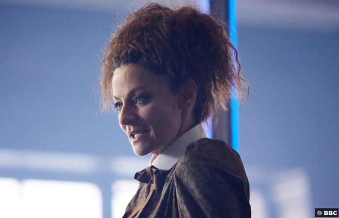 Doctor Who S10e8 Missy Michelle Gomez