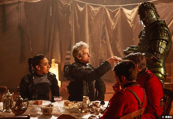 Doctor Who S10e9 Peter Capaldi Pearl Mackie Bill