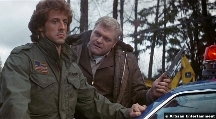 First Blood Rambo 1982 Sylvester Stallone Brian Dennehy
