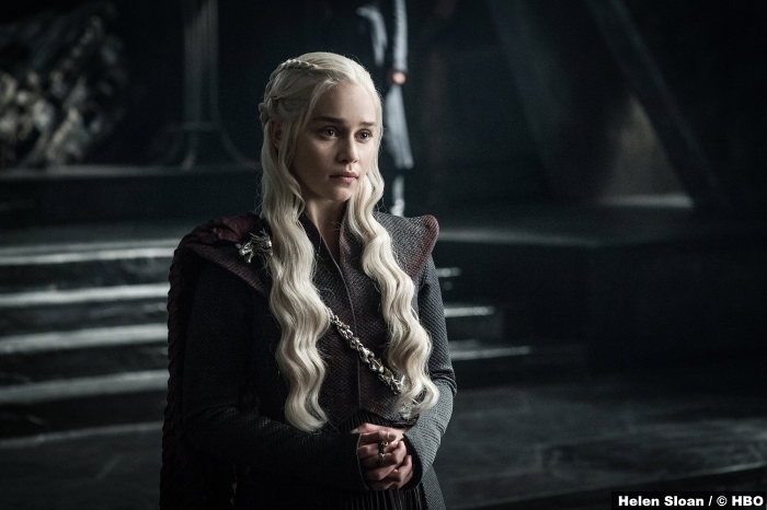 Game Of Thrones S7 Emilia Clarke Daenerys Targaryen