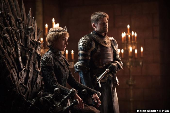 Game Of Thrones S7 Nikolaj Coster Waldau Jamie Lannister Lena Headey Cesei