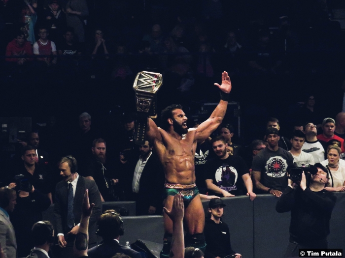 Jinder Mahal World Title Belt Backlash 2017