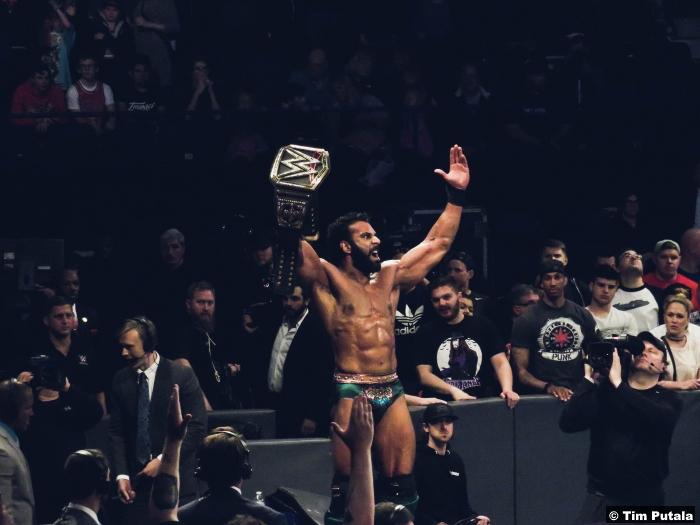 Jinder Mahal World Title Belt Backlash 2017