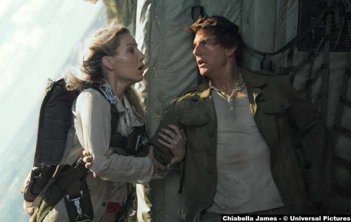 Mummy 2017 Tom Cruise Annabelle Wallis
