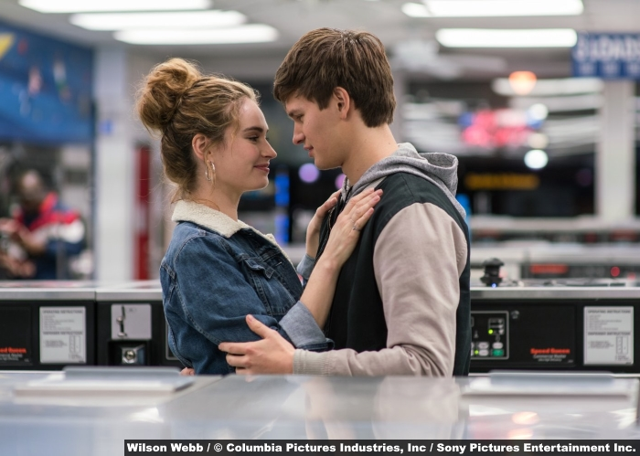 Baby Driver Lily James Ansel Elgort