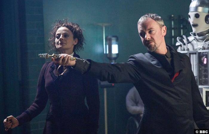 Doctor Who S10e12 John Simm Master Missy Michelle Gomez
