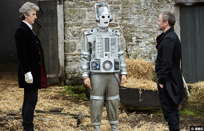 Doctor Who S10e12 Peter Capaldi John Simm Master Cyberman Bill