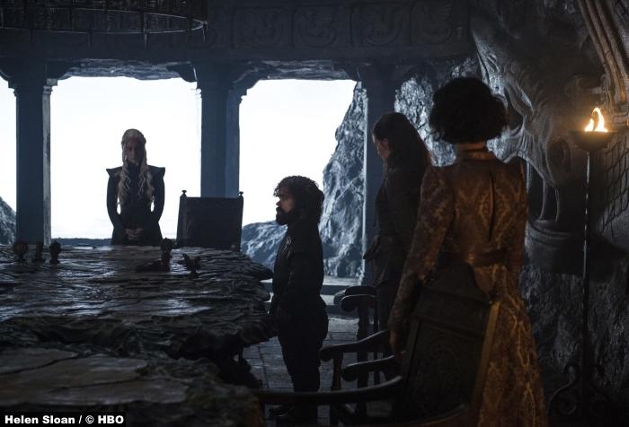 Game Of Thrones S7e2 Peter Dinklage Emilia Clarke Tyrion Lannister Daenerys Targaryen