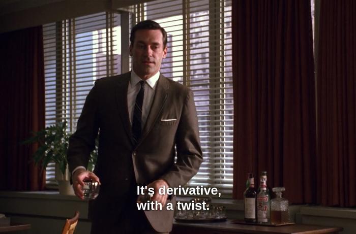 Mad Men Derivative Twist