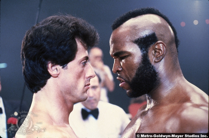 Rocky 3 Sylvester Stallone Mr T Clubber Lang