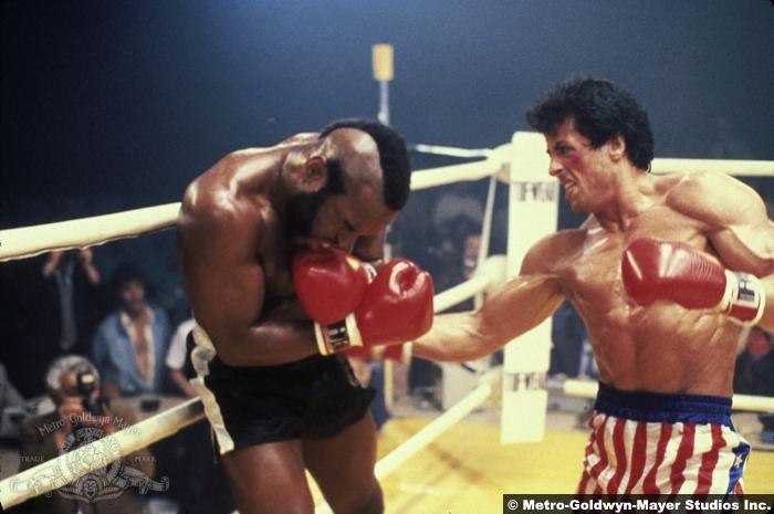 Rocky 3 Sylvester Stallone Mr T