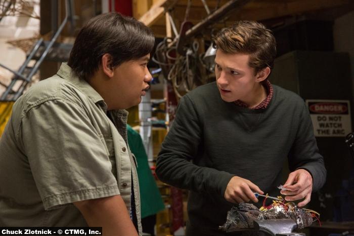 Spider Man Homecoming Tom Holland Jacob Batalon