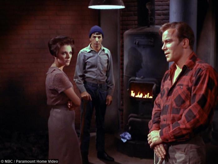 Star Trek City Edge Forever Spock Kirk