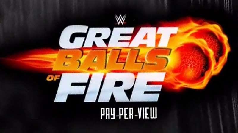 Wwe Great Balls Of Fire Tv Logo