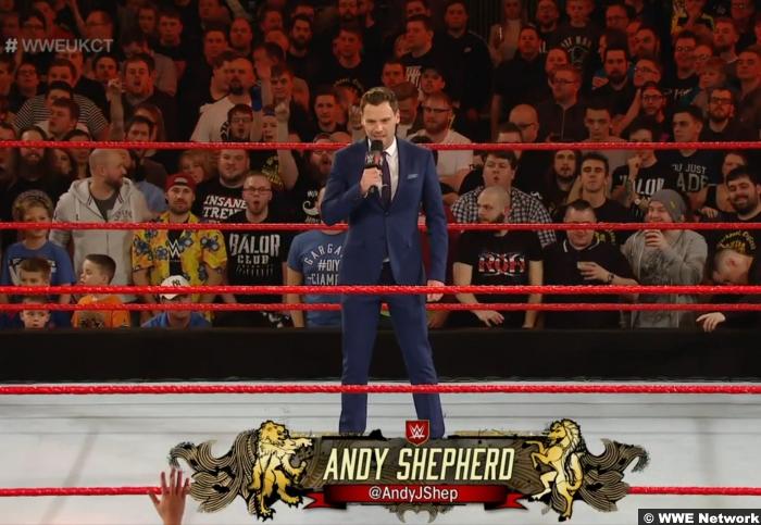 Andy Shepherd NXT UK