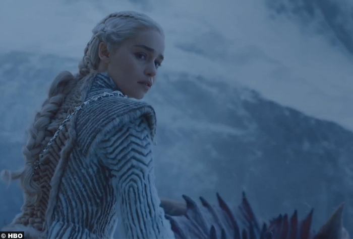 Game Of Thrones S7e9 Emilia Clarke Daenerys Targaryen