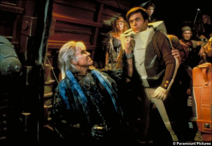 Star Trek 2 Wrath Khan Pavel Chekov Clark Terrell Walter Koenig Ricardo Montalban Nanci Rogers Paul Winfield