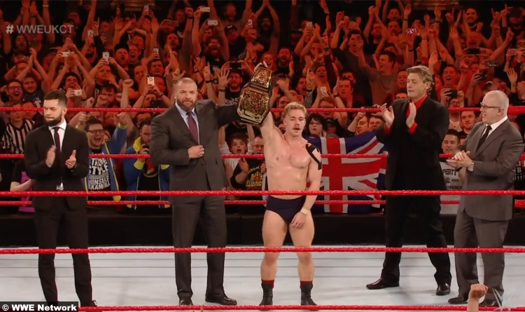 Tyler Bate Triple H Finn Balor Fit Finlay William Regal