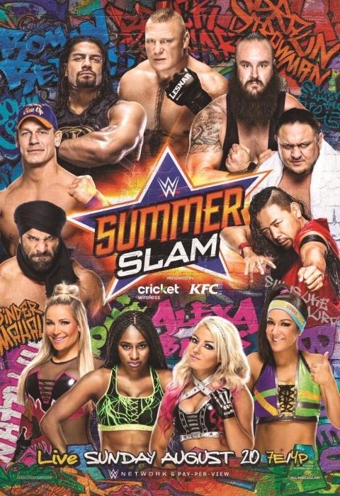 Wwe Summerslam 2017 Poster