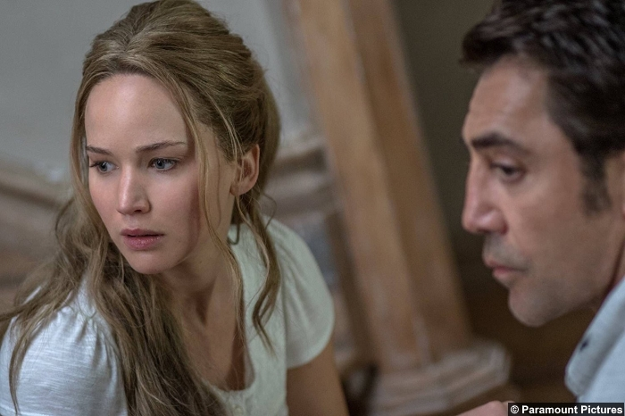 Mother Javier Bardem Jennifer Lawrence